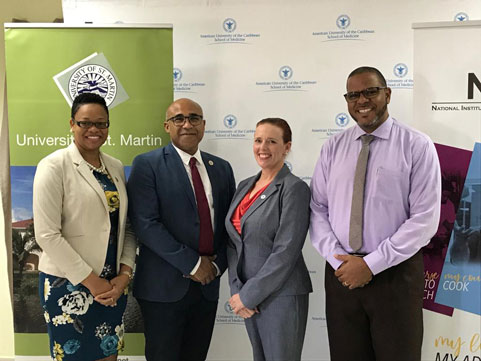 AUC, NIPA, and USM sign a Memorandum of Understanding to partner for the benefit of St. Maarten