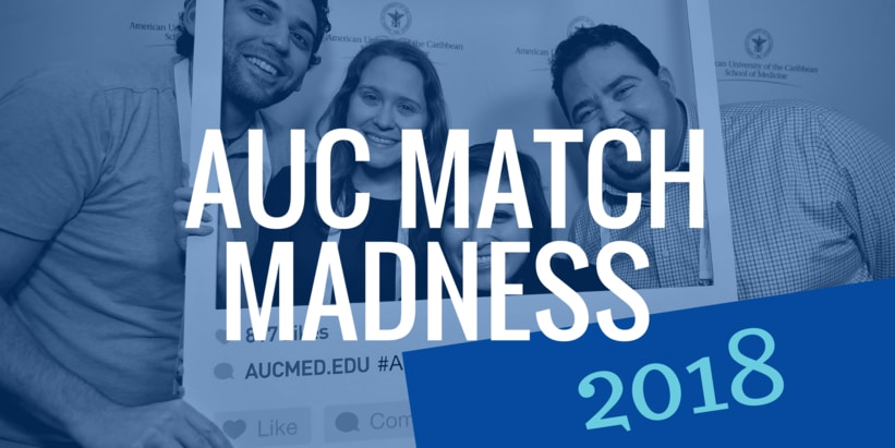 AUC students at Match Day