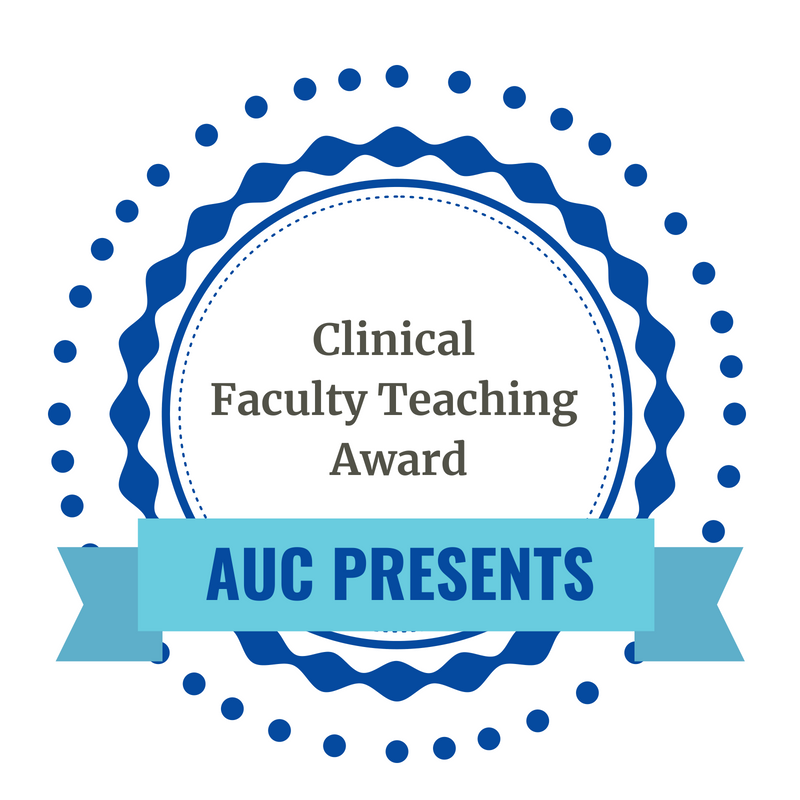 Clinical Faculty Teaching Award logo
