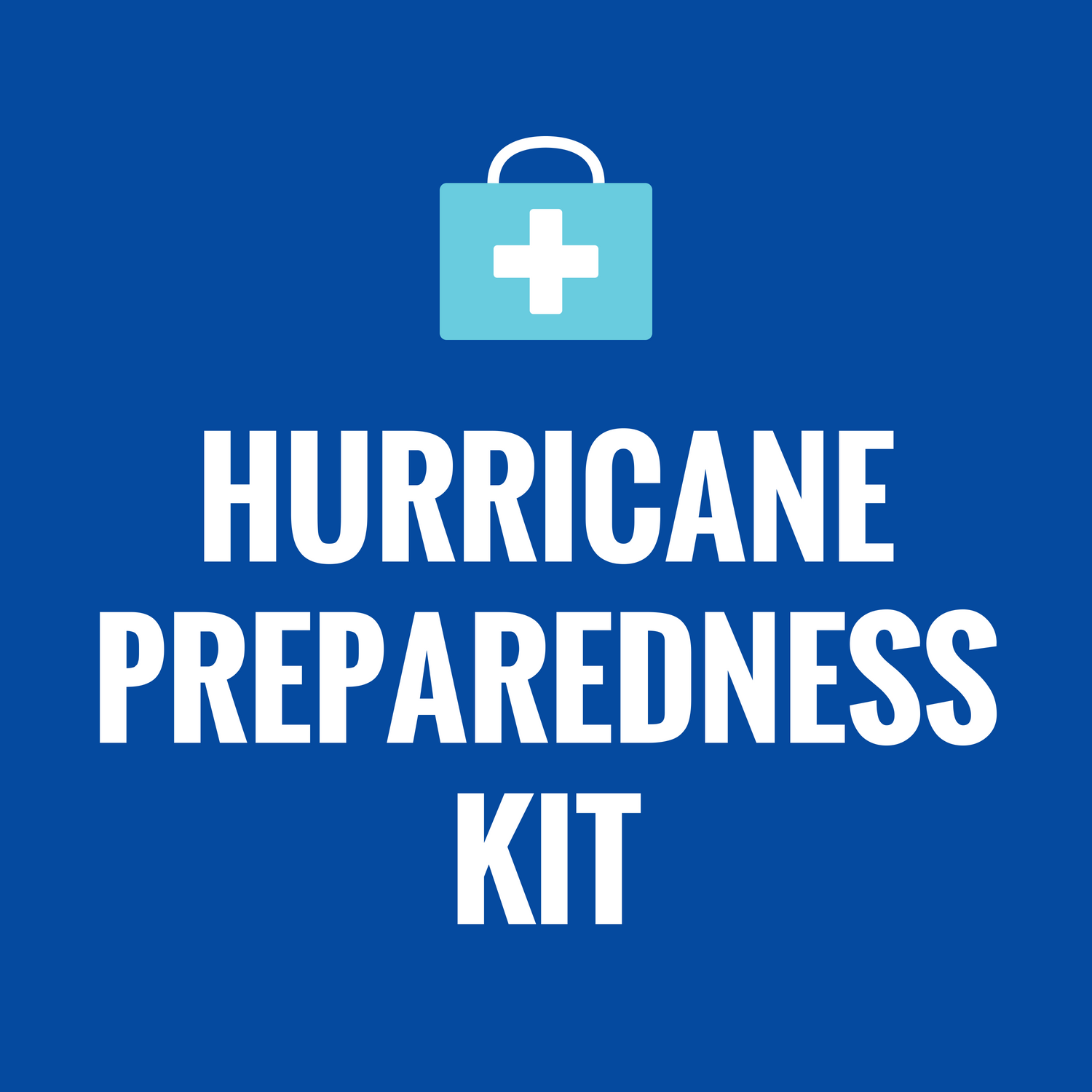 Hurricane Preparedness Kit icon
