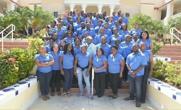Group picture of AUC staff
